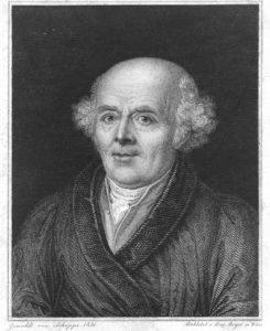 portret van Hahnemann